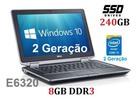 Ultrabook Dell I5 Ssd 240gb 8gb Com Garantia, E6330 3ª Gen