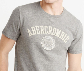 Playera Abercrombie & Fitch Aplique Logo 100% Originales