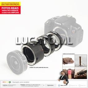 Tubo Extensor Macro Autofoco Dg Ii Para Canon Dslr Ef Efs
