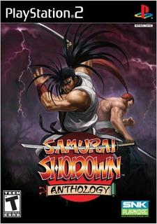 Antología Samurai Shodown - Playstation 2