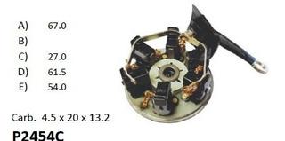 Kohlenfedernsatz para motor de arranque carbón muelle muelle carbón carbón cepillo kohlenfeder