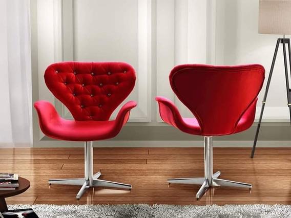 Cadeira Decorativa,com Base Giratória !