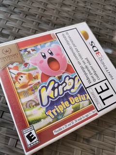 Nintendo 3ds Kirby Triple Deluxe Sellado