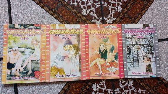 Sunadokei O Relógio De Areia - Volumes 1, 2, 3 E 8 - Panini
