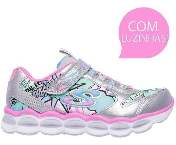 Tenis Skechers S Lights Lumi Luxe