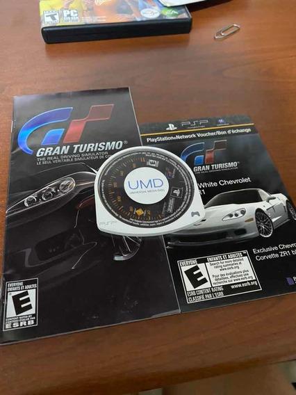 Gran Turismo 5 Psp + Brinde Corvette