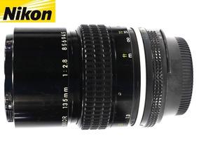 Lente Nikon 135mm F/2,8 Série Ai-s Nikkor