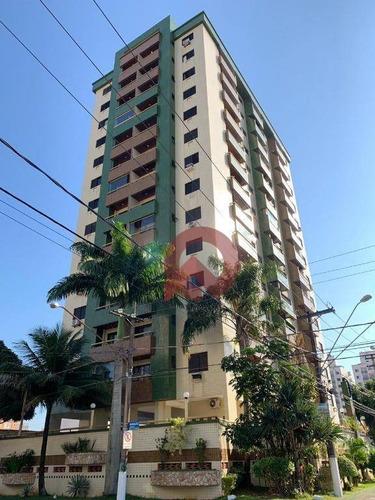Apartamento Com 1 Dormitório À Venda, 57 M² Por R$ 208.000,00 - Tupi - Praia Grande/sp - Ap3358
