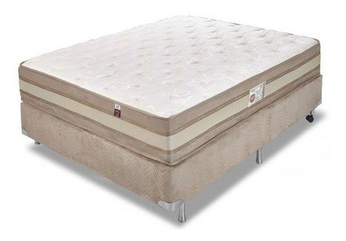 Sommier 2 Plaza Resorte Pocket Ortopedico Pillow Soft