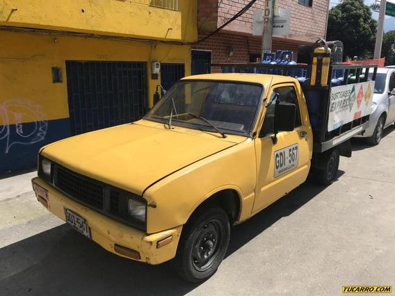 Chevrolet Luv 1600 Gasolina Y Gas