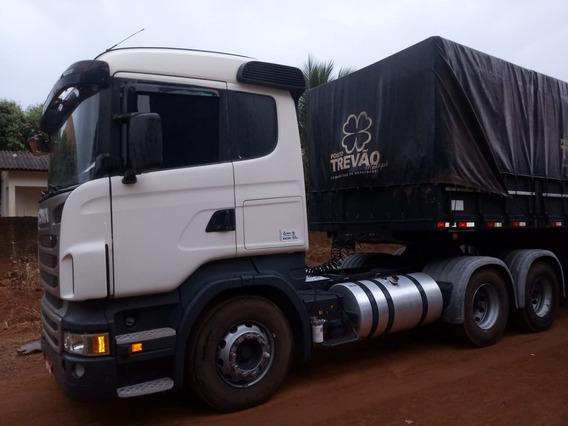 Conjunto Scania R440 + Carreta 9eixos Curto