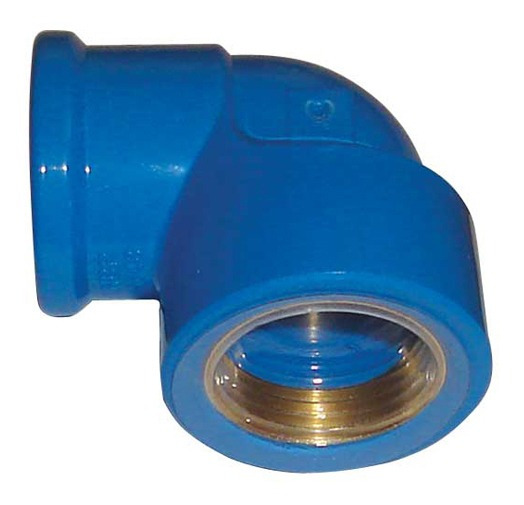 Cotovelo Azul Viqua 3/4 X 3/4 Kit C/10