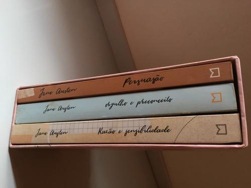 Livros Trilogia Jane Austen