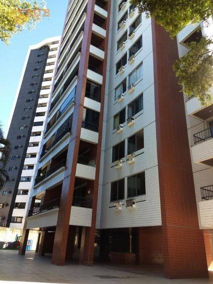 Apartamento Com 3 Dormitórios À Venda, 138 M² - Espinheiro - Recife/pe - Ap3698