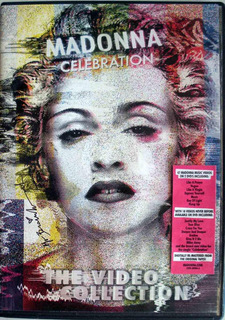Dvd Madonna Celebration Video Collection 2dvdpromo Poster