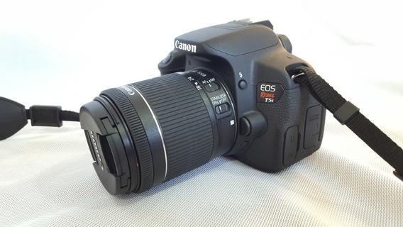 Câmera Canon Eos Rebel T5i + Lente Usado