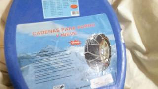 Cadenas Para Barro Y Nieve Duster 16mm. Cd225