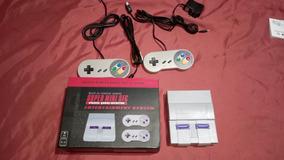 Super Nintendo Mini Com 100 Jogos Classicos