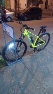 Bicicleta Cool Modelo Funk, Rodado 29, Frenos A Disco Y 27 V