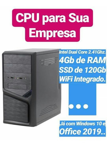 Cpu Goldentec Intel 2.41ghz. Com Ssd A Mais Barata Do Ml.