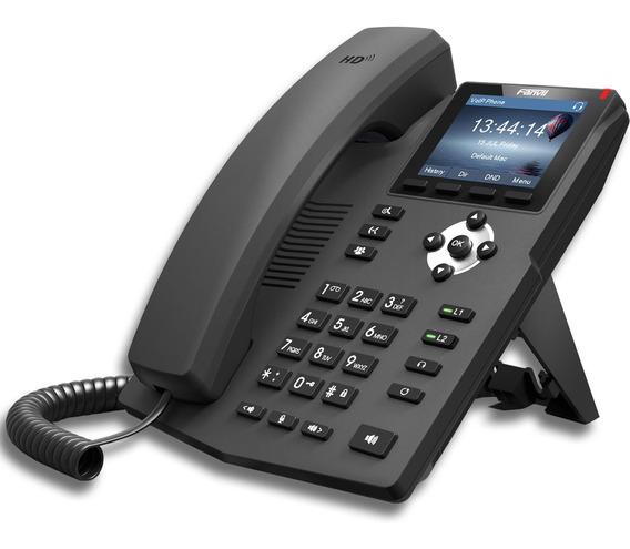 Telefono Ip Fanvil X3 G Gigabit Poe 2lin P/ Centrales Ip
