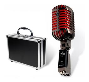 Microfone Arcano Vintage Acabamento Impecável Vt-45 Bk2