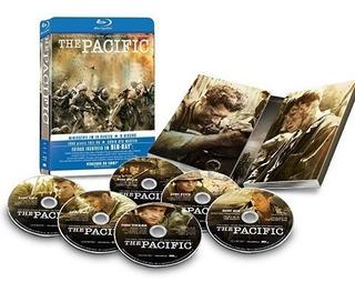 The Pacific Steelbook Box 6 Blu Ray Import Nuevo Original