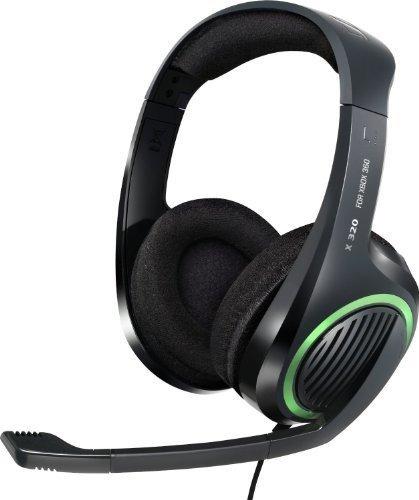 Imagen 1 de 10 de Sennheiser X320 Xbox Auriculares (rca A Los Conectores De Te