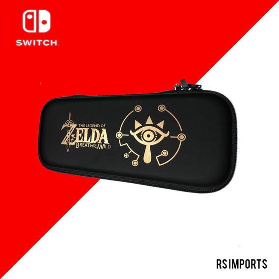 Case Capa Estojo Nintendo Switch Zelda A Pronta Entrega