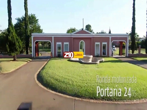 Te06200 - Condomínio Residencial Primavera - Salto - At 1.377 M2 -ótimo  Terreno Plano Pronto Para Construir.  Z10 Negócios Imobiliários/indaiatuba - Te06200 - 68970329