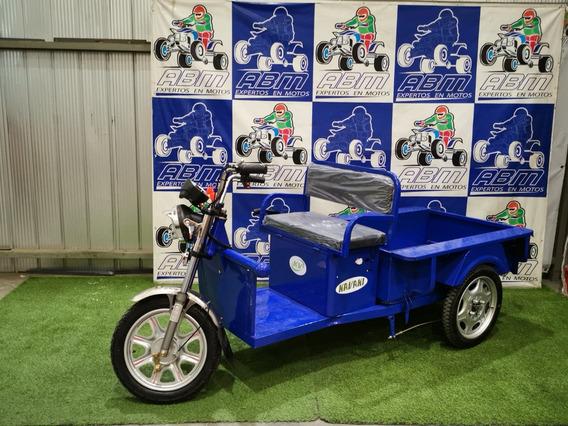 Triciclo Electrico Con Pick Up Modelo Corto