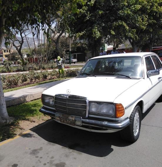 Clásico Mercedes Benz Del 1982