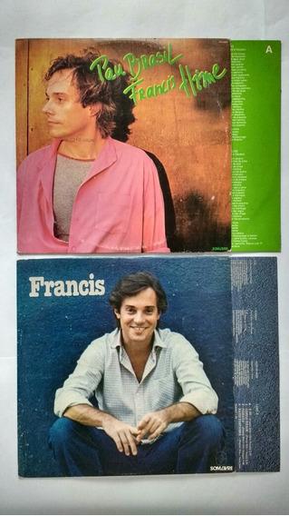 2 Lps Francis Hime Pau Brasil Hime Vinil Frete Grátis