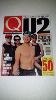 U2 Bono Antigua Revista Q Enero 1993 Inglaterra