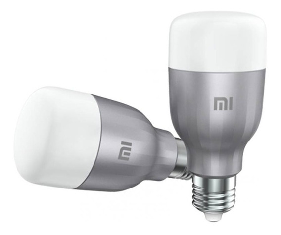 Foco Inteligente Mi Led Smart Bulb 2 Pack Xiaomi