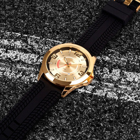 Relógio Masculino Dourado Condor Original Prova D