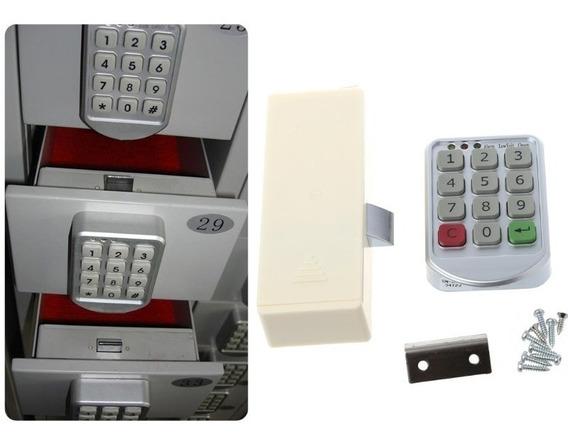 Fechadura Eletrônica Digital Senha Para Armários E Gavetas