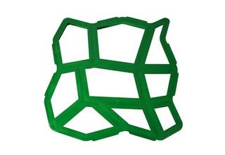 Forma Molde Para Piso Concreto Artesanal C/ Manual