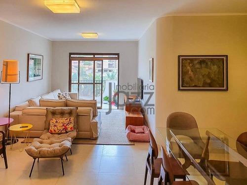 Apartamento Com 3 +1 Quartos À Venda, 167 M² Por R$ 895.000 - Jardim Proença - Campinas/sp - Ap5335