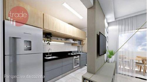 Imagem 1 de 8 de Apartamento Com 3 Dormitórios À Venda, 91 M² Por R$ 416.000,00 - Ribeirânia - Ribeirão Preto/sp - Ap6654
