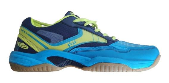 Zapatillas Tenis Squash Zyngra Suela Caramelo Indoor Olivos