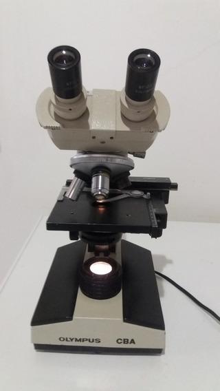Microscópio Olympus, Modelo Cba, Binocular.