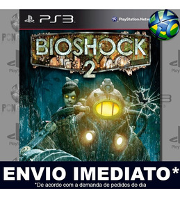 Bioshock 2 Ps3 Midia Digital Psn Envio Imediato