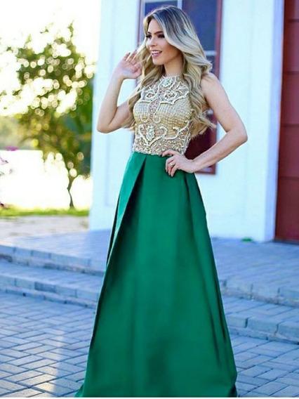 Vestido Tafetá - Elizabeth Marques