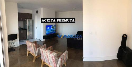 Apartamento Com 2 Dormitórios, 100 M² - Venda Por R$ 785.000,00 Ou Aluguel Por R$ 3.000,00/mês - Parque Renato Maia - Guarulhos/sp - Ap0625