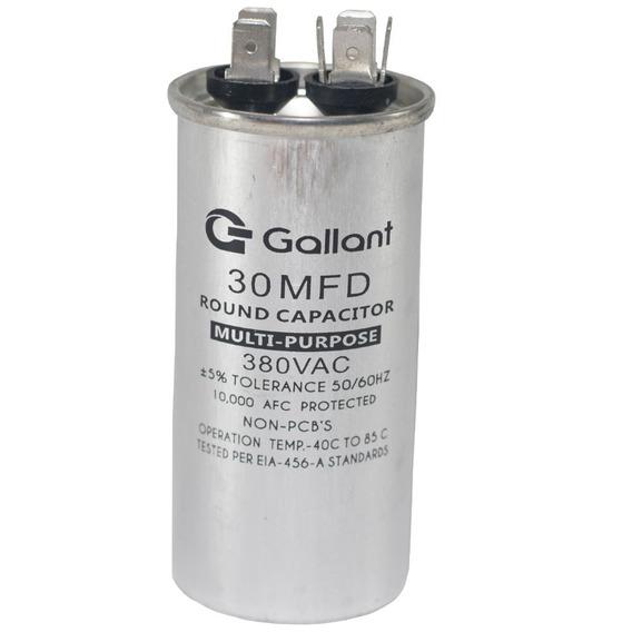 Capacitor Cbb65 Gallant 30mf +-5% 380 Vac Gcp30s00a-ix380