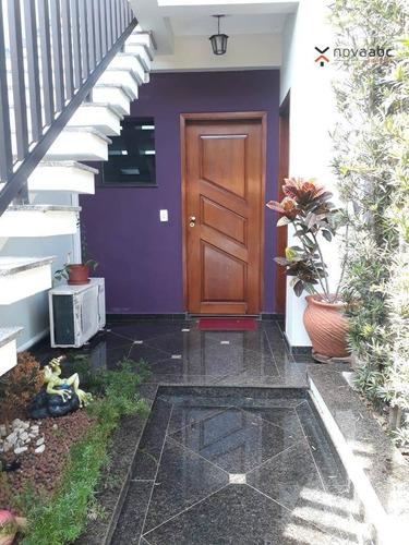 Sobrado Com 3 Dormitórios Para Alugar, 361 M² Por R$ 7.000,00/mês - Campestre - Santo André/sp - So0402