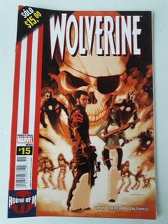 Wolverine Cómic # 15 House Of M
