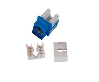 Conector Jack Rj45 Cat6 90grados Enson Ens-jc6bl Azul