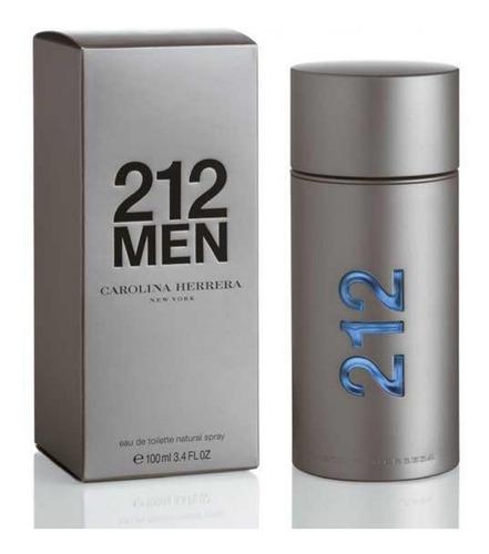 Perfume Original 212 Men Carolina Herrera 100 Ml Envio Grtis